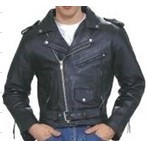 Mens Cowhide Leather Jacket