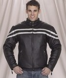 Mens racer jacket