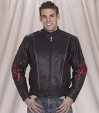 Mens Naked Racer Jacket