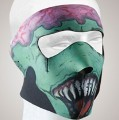 Zombie Face mask with velcro strap on back
