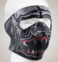 Alien Monster Face mask with velcro strap on back