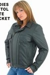 Ladies Soft Leather Pistol Pete Jacket