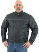 Mens Cowhide Racer Jackets