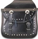 PVC Saddlebag With Zip off & Q-Release