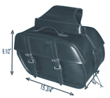 PVC SADDLEBAG WITH