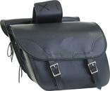 PVC SADDLEBAG WITH EAGLE-LIFE TIME WARRANTY