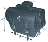 PVC SADDLEBAG WITH Q-RELEASE & EAGLE-LIFE TIME WARRANTY