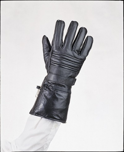 Gauntlet glove W/ lining and rain cover